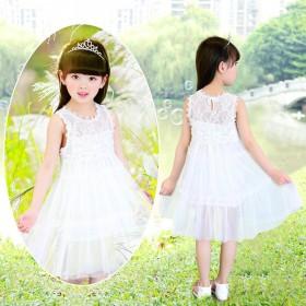 连衣裙夏装儿童夏天公主裙小女孩夏季洋气网纱裙子退货