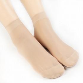 10双袜子女士短袜包芯丝防勾丝黑色肉色丝袜超薄夏季