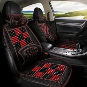 夏季汽车坐垫单片 木珠腰靠腰垫腰枕护腰司机驾驶单座