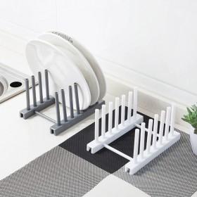 新款创意个性时尚自由拆卸碗碟沥水架置物架