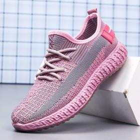 百搭透气网面鞋2020新款秋季旅游休闲女鞋跑步鞋