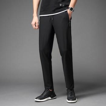 户外男装休闲运动裤冰丝高弹薄款长裤速干裤外穿男21