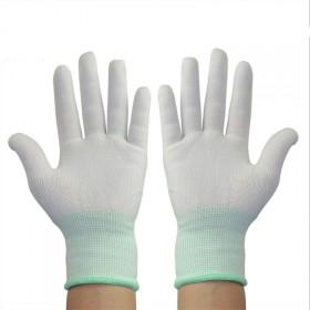 12付装】薄款尼龙耐磨防滑PU涂掌涂指手套涂胶