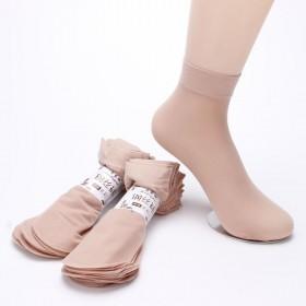 【5双装】丝袜女防勾丝肉色包芯丝钢丝面膜袜子薄款短