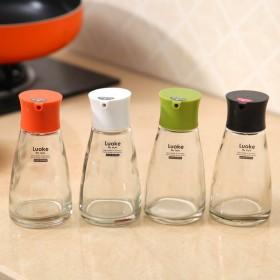 防漏油玻璃油壶调料瓶酱油瓶少油少酱料吃出健康好身体
