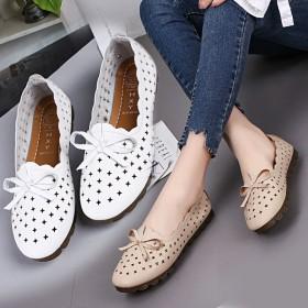 2020超软鞋底夏季妈妈鞋软底孕妇鞋豆豆鞋单鞋奶奶