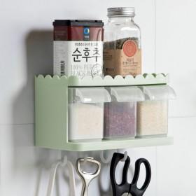 调料罐套装调味盒子厨房用品带盖料盒盐罐调味品家用带