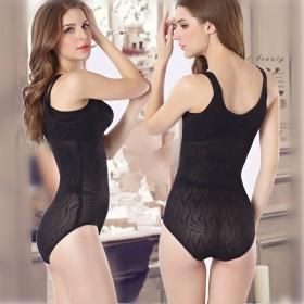 夏季超薄连体塑身衣开档收腹燃脂美体瘦.身连体衣