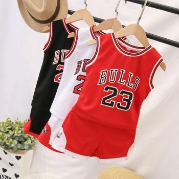 2020儿童篮球服夏季运动套装23号球服男女童一套