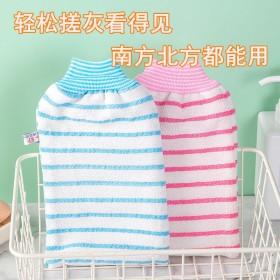 加厚彩色搓澡巾沐浴搓泥澡巾女男士专用