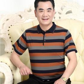 中年人夏季衣服男士夏装50-60岁中老年人
