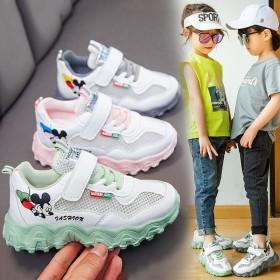 女童鞋子2020新款春秋夏季童鞋中大儿童老爹鞋男童