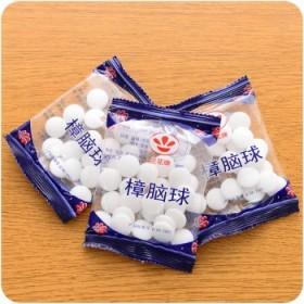 20包樟脑丸衣柜防霉防虫除味卫生球驱虫除臭樟脑