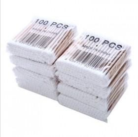 双头木棉棒卫生棉签棉花棒清洁卫生卸妆化妆棉