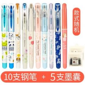 爱好可替换墨囊钢笔10支+墨囊5支