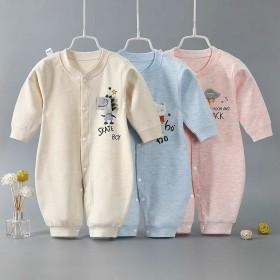 婴幼儿春秋纯棉连体衣