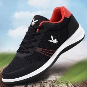 花花公子国际男鞋运动鞋休闲鞋透气跑步鞋旅游鞋