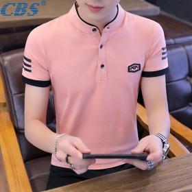 95棉男士夏季短袖T恤男装棉质透气打底衫