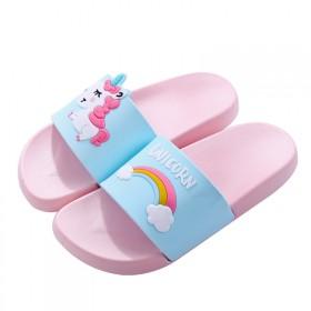 新款拖鞋夏季新款宝宝可爱卡小马儿童家居室内防滑拖鞋