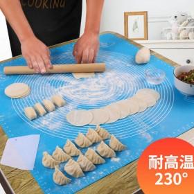 食品级加厚硅胶垫擀面垫软大号防滑揉面和面不沾案板