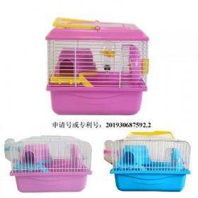 工厂直销 仓鼠笼子金丝熊笼子双层豪华别墅仓鼠用品