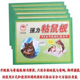 20张粘捉抓老鼠贴笼胶粘鼠板强力捕鼠灭鼠器