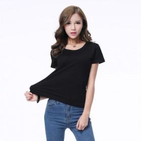 男女士T恤印制圆领广告衫工作服短袖团体服定制文化衫
