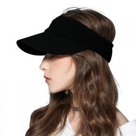 空顶帽夏季新款太阳帽子女户外遮阳帽运动防晒无顶鸭舌