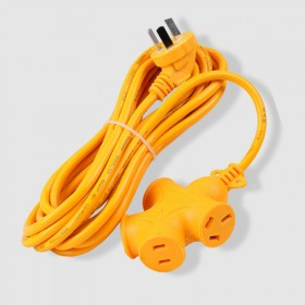 地拖插座户外延长电动车加长线接线板插排插头