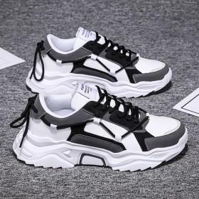 新款老爹鞋男夏季透气休闲韩版潮流百搭跑步运动版鞋