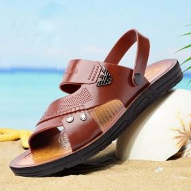 【奥兰堡】夏季男士透气防滑凉鞋拖鞋