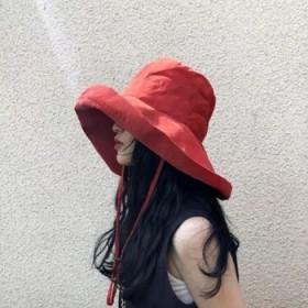大檐渔夫帽女夏季户外遮阳防晒帽百搭太阳帽遮阳帽遮脸