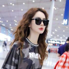 太阳眼镜明星网红款抖音墨镜女GM韩版圆脸防紫外线