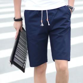 夏季纯棉短裤男五分裤韩版学生宽松男士大裤衩运动裤夏