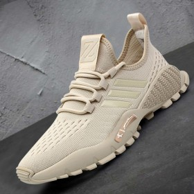 夏季透气休闲鞋网面2020新款男鞋运动男士跑步潮鞋