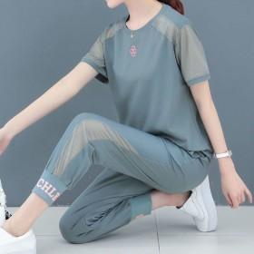 套装 运动套装女时尚韩版2020新款宽松