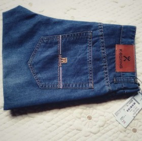 劲霸男装牛仔裤特价商场处理品牌纯棉