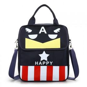 2020新款补习袋美国队长辅导班男女童小学生书包