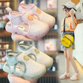 女童凉鞋2020新款儿童软底夏季小童公主鞋男童宝宝