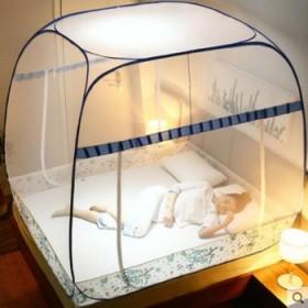 蒙古包蚊帐防摔儿童免安装夏季床上防蚊