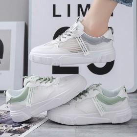 女夏透气网鞋小白鞋