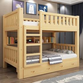 全实木双层床儿童床学生上下床高低床子母床成人床上下
