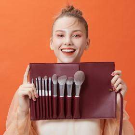 德国进口巴斯夫纤维毛10支化妆刷套装