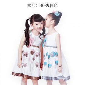 女童公主裙子纱裙夏款裙子吊带裙