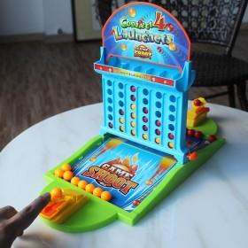 儿童桌面投篮游戏机