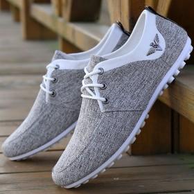 休闲鞋男士豆豆鞋男鞋子潮流老北京布鞋