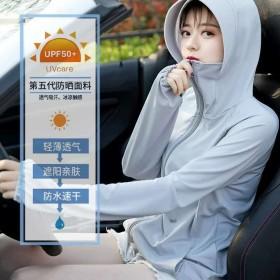 防晒衣女防紫外线长袖外套2020新夏季户外开车冰丝