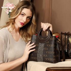 茉妮卡品牌女包闪钻包包手提包