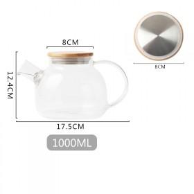 玻璃水壶 1000毫升 过滤