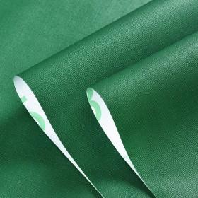 自粘墙纸墨绿色简约自贴壁纸